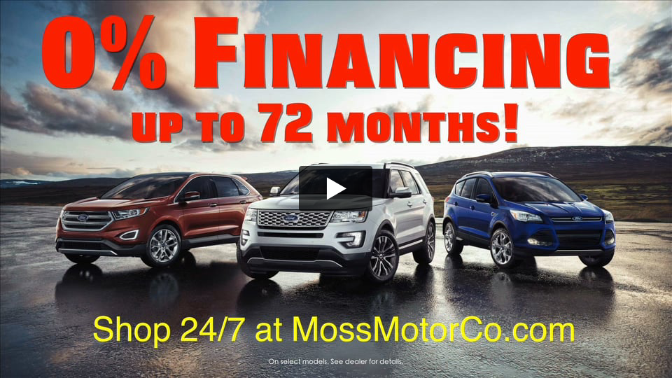 Moss Motor Company Televison Commercial by Connell Agency