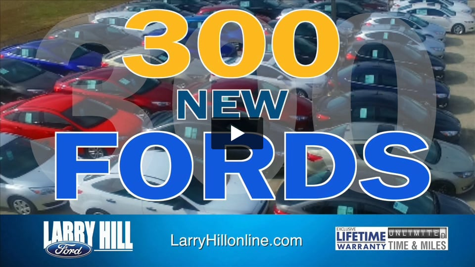 Larry Hill Ford Televison Commercial by Connell Agency