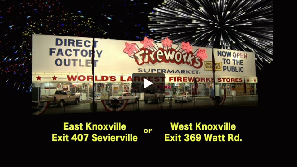 Fireworks Supermarket Knoxville Televison Commercial by Connell Agency