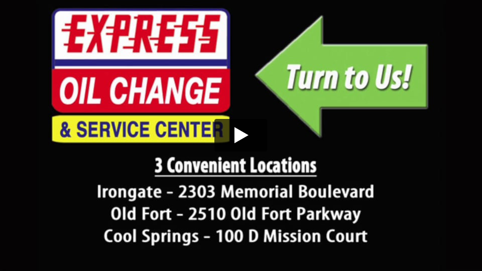 Express Oil Murfreesboro Televison Commercial by Connell Agency